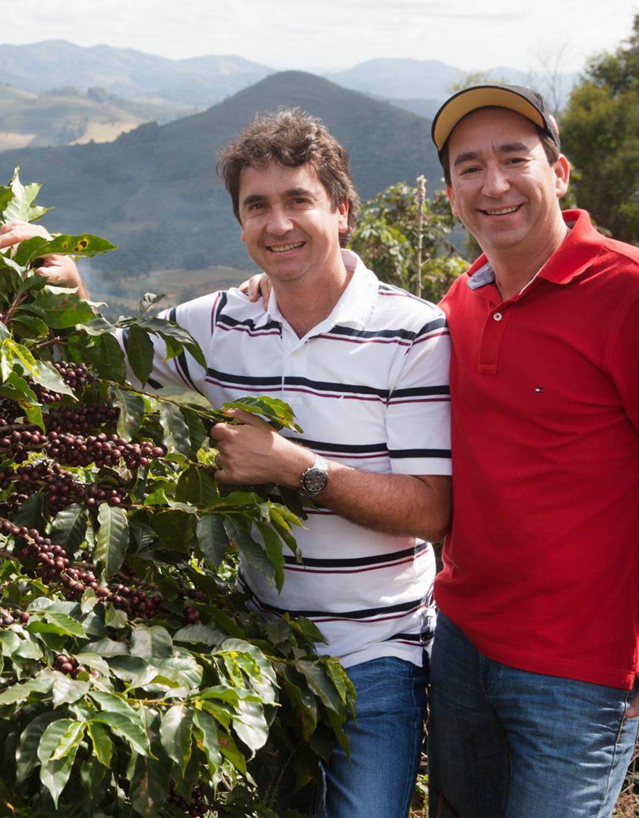 La Ruga –Die Kaffeerösterei –Herkunft, Fazendas Dutras, Brasilien