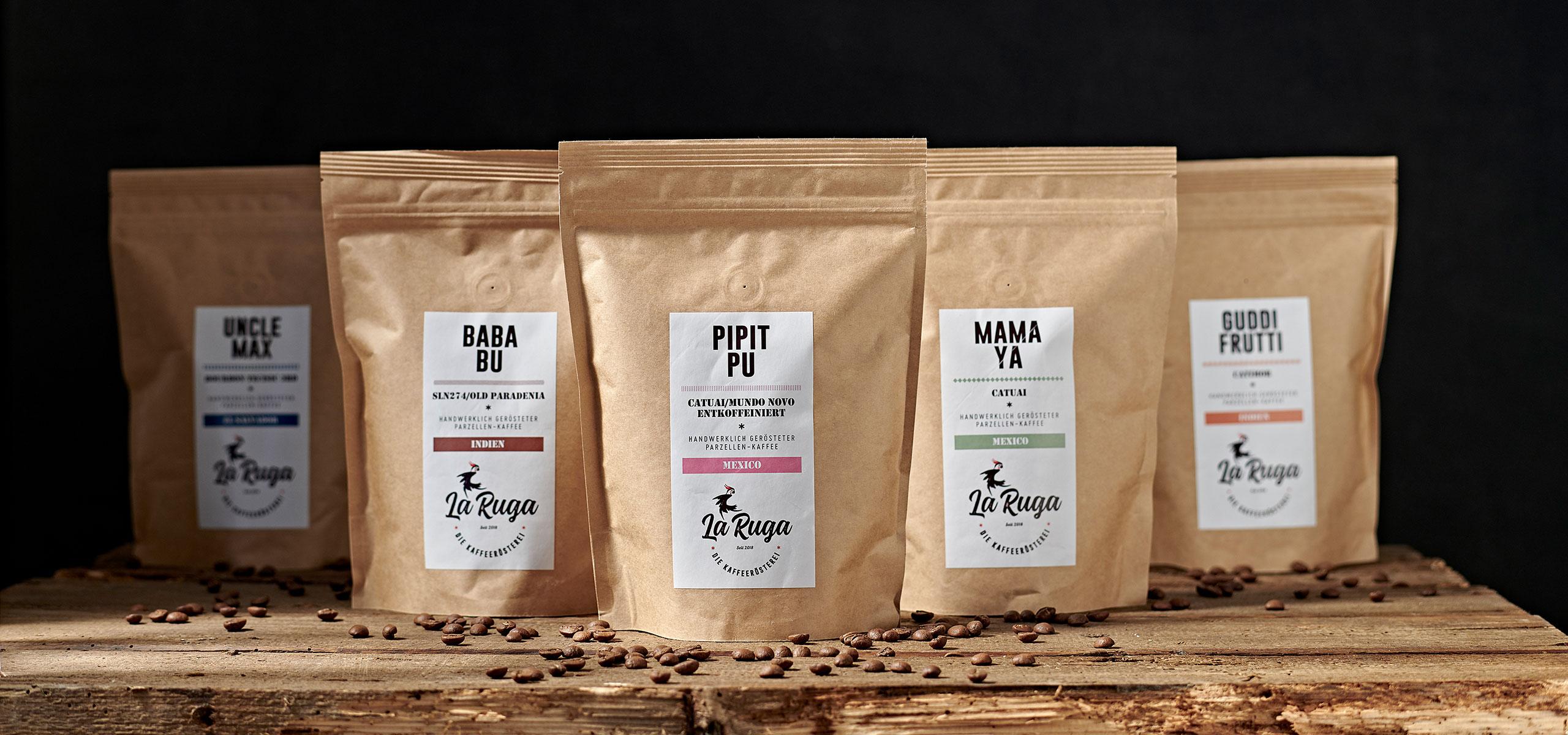 La Ruga –Die Kaffeerösterei –Slider Home