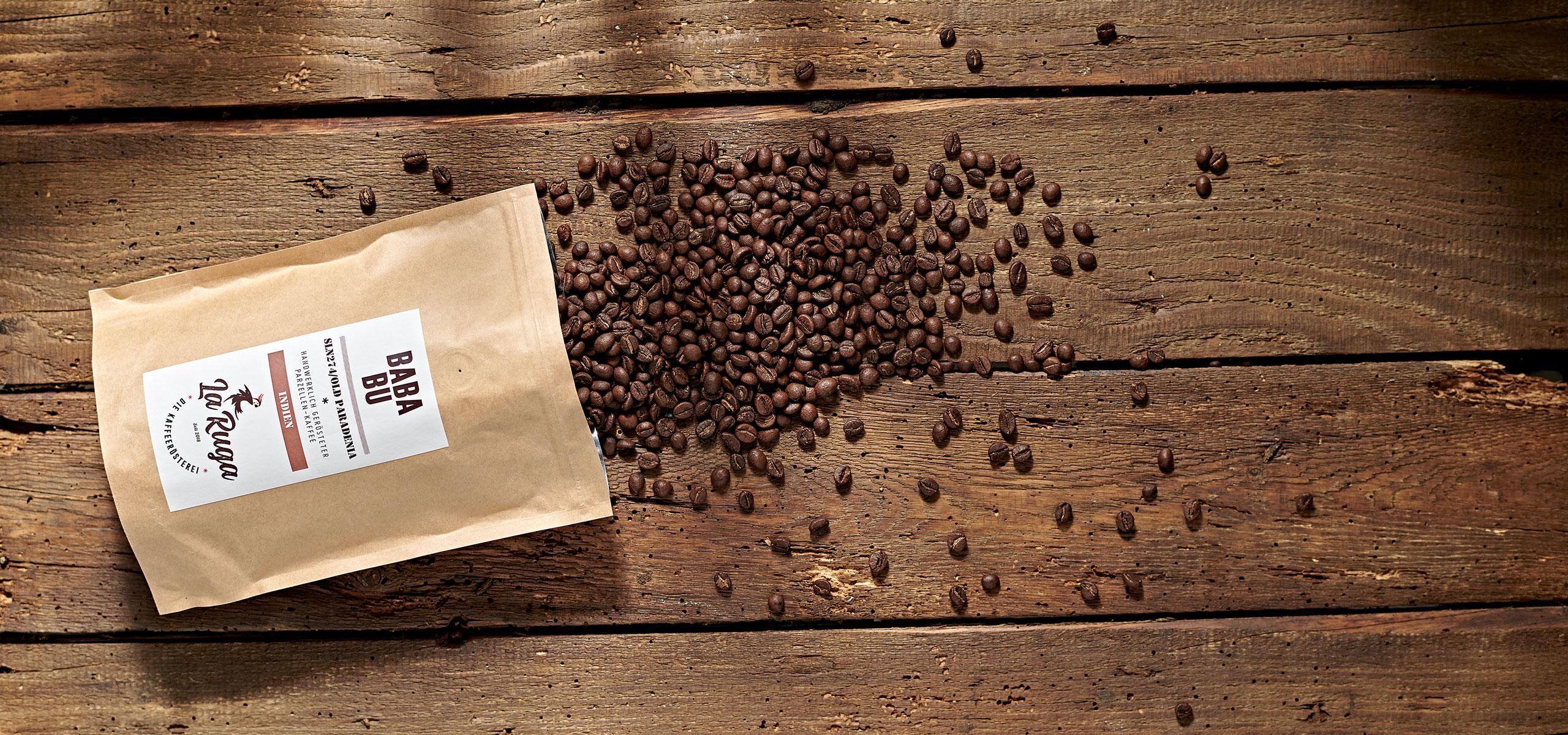 La Ruga –Die Kaffeerösterei –Slider Story